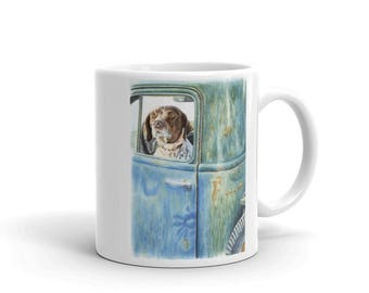 Ready, Willing & Able German Shorthaired Pointer 11oz Coffee Mug