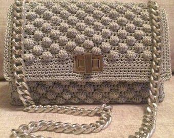 Crochet Women's Hand Bag