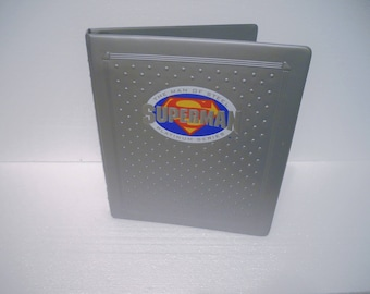 Skybox 1994 Superman: The Platinum Series Collector's Edition Set with Binder