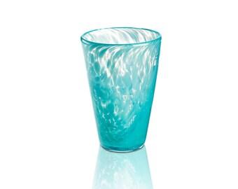 Glass Drinkware- Turquoise