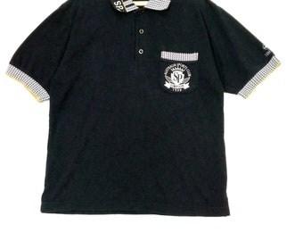 Vintage 90s Simpson Club Australia Challenge Golf Polos Shirt embroidery Medium