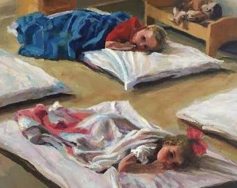 Nap Time at Preschool