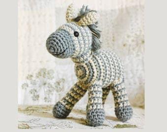 Little Amigurumi Zebra, Knitting Pattern