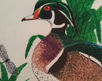 CUSTOM Bird Pointillism Illustrations