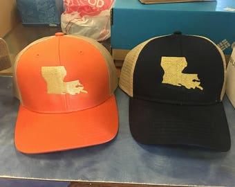 Louisiana State hats