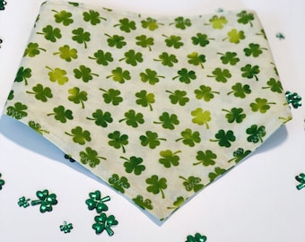 Lucky Charms | Shamrock Pet Bandana | Dog Bandana | Cat Bandana | St. Patrick's Day