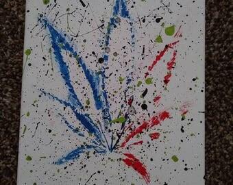 Splat paint 420