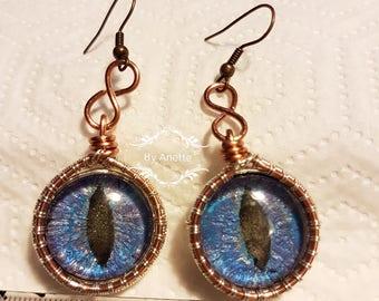 Dragoneye earrings