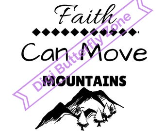 Faith Can Move Mountains File