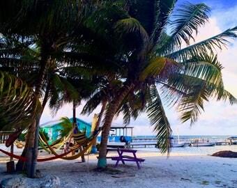 Peaceful Beach - Caye Caulker, Belize