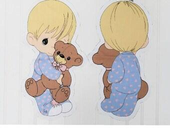 Vintage Precious Moments Cut N Sew/Pillow Doll