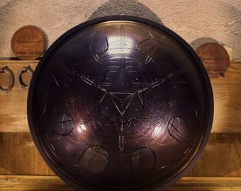 Theia Drum (handpan, tonguepan,  steel  tongue drum