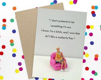 Rude Greeting Card