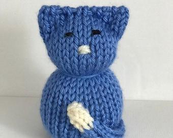 Mini Knit Cat Doll