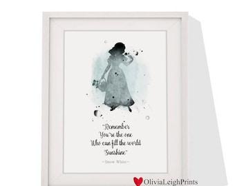 Disney Snow White Art print Instant Download