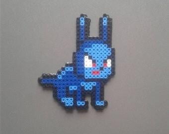 Blue Bunny (Perler)