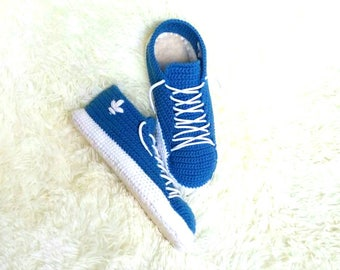 Slippers sneakers,sneakers knitted Adidas,women's sneakers,men's sneakers,gift for him