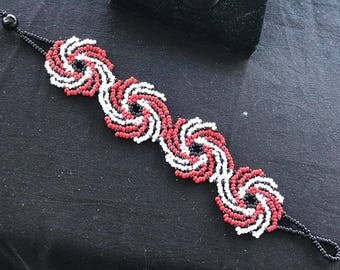 Chaquiras Bracelet Spiral handmade (beats)