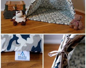 Teepee  #Tipi Moro style #Play tent for boys