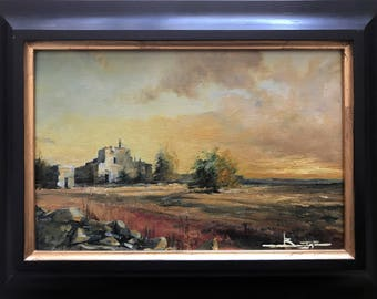 Ron-picture oil painting style impressionist Salento