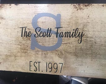 Established Family Signs