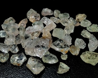 176.95 Unheated & Natural Peach Pink Morganite Rough Stone Lot