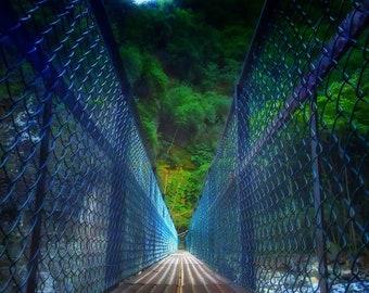 Rural Photography - Broken Bridge - Iao Valley, Hawaii