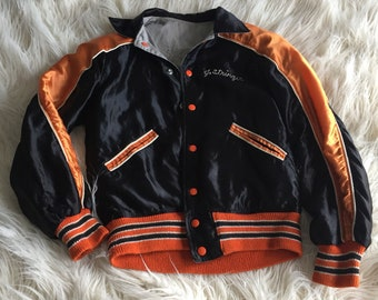 Vintage Astros Silk Letterman Jacket