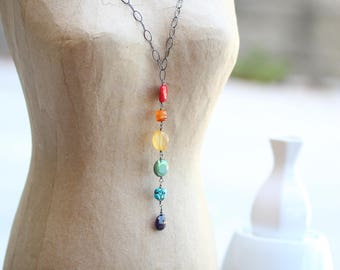 Rainbow Collection Necklace :