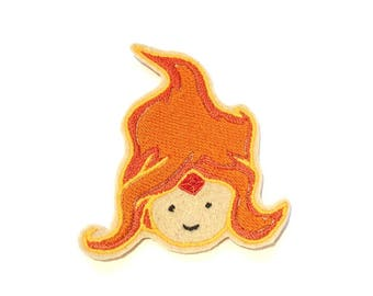 Flame Princess Adventure Time embroidered iron on patch