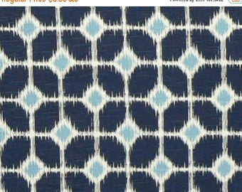 ON SALE - 10% Off Premier Prints Sofie Premier Navy Blue Slub Home Decorating Fabric BTY