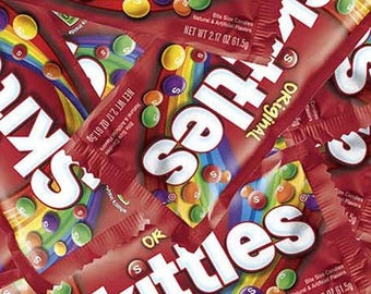 ON SALE - 10% Off Springs Creative Packed Mars Skittles Cotton Fabric By The Yard IN Stock