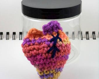 Heart in a Jar - Pinks, Purples, and Oranges (SWG-HT006)