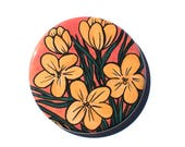 Yellow Crocus Magnet, Pin...