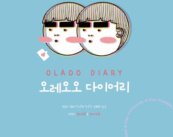 Twin Ora Oo Diary - Coloring Book