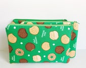 GIRL SCOUTS COOKIES Zipper Pouch *Ready to Ship