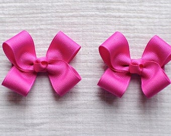 Hair Bows,Wild Berry Hair Bows, Pigtail Hair Bows,Toddler Hair Bows, 3 Inch Hair Bows,Non Slip Bows,Alligator Clips,Birthday Party Favors