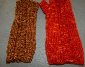 Original Knitting Pattern - Hot Corner Mitts