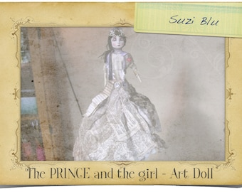 The Prince and the Girl/ Art Doll Mixed Media Workshop with Suzi Blu