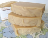 Chamomile Infused Handmade Goat Milk Soap - Made with Olive Oil Infused with Chamomile Flowers - Unscented, No Fragrances or Essential Oils