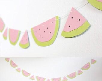 Watermelon Banner - Summer Party Decoration