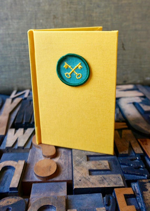 Girl Scout Badge Journal Housekeeper Badge - Lined
