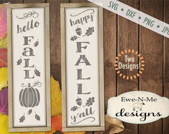 Fall svg - Happy Fall Yall svg - hello fall svg - autumn svg bundle  -  fall svg bundle - Commercial use svg, dxf, png and jpg