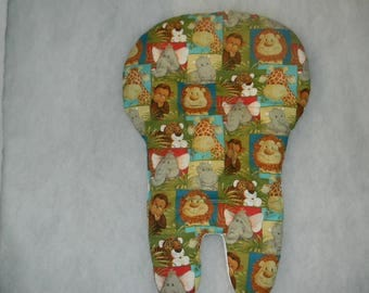 Bucket Seat High Chair Cover In Jungle Babies