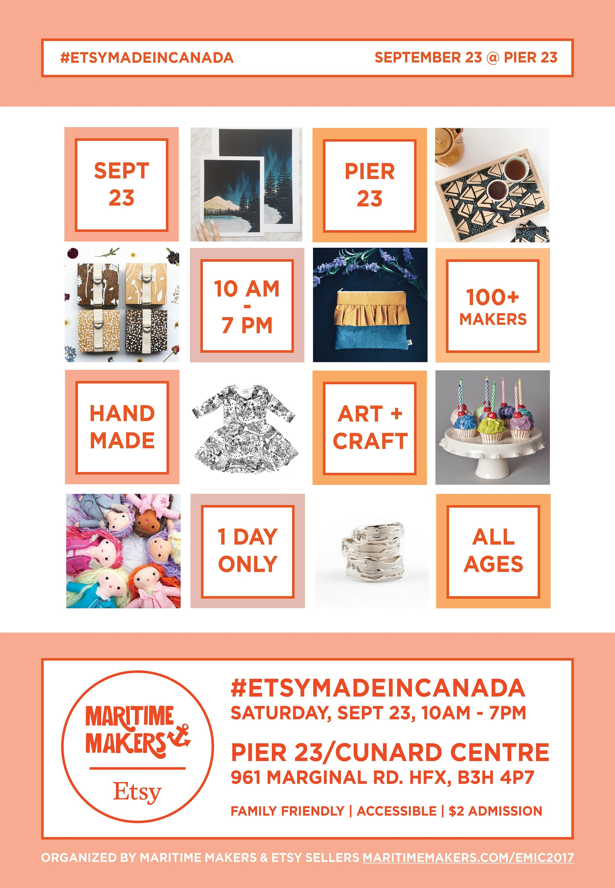 Etsy made in Canada local craft show halifax 2017