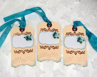 Shabby Cottage Chic Gift Tags