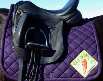 Be Ventursome! With a Dressage Saddlepad From THe 24 Carrot Collection CD-71