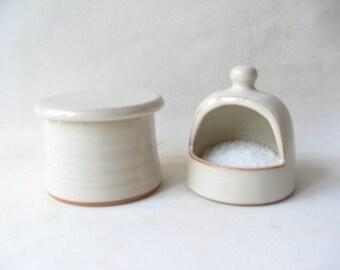 Ceramic Salt Keeper Etsy