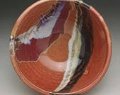 Handmade Pottery Vessel drop in Sink, Shino with layered glazes- Made to Order