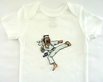 Karate Taekwondo Iron On Applique Patch Quilting Quilt Baby Shower